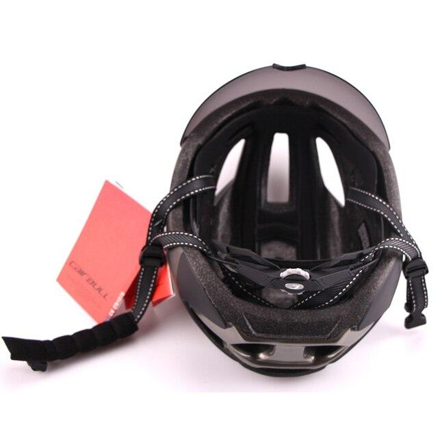 Cairbull 280g aero ultra-luz goggle tt estrada bicicleta capacete in-mold corrida ciclismo esportes segurança tempo-julgamento ciclismo capacete 6