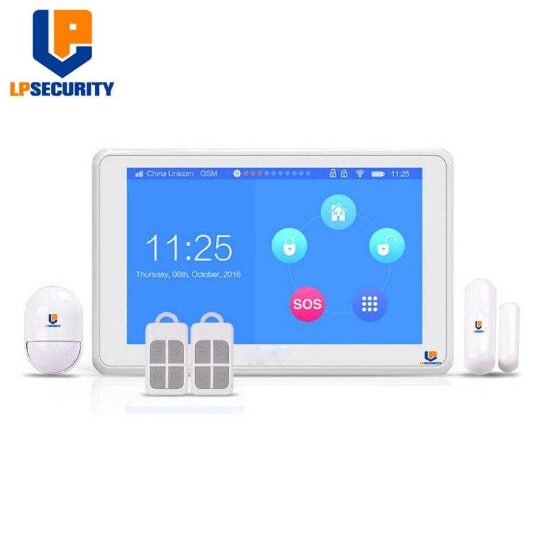 LPSECURITY K7 Wireless 2.4G WIFI/GSM 7
