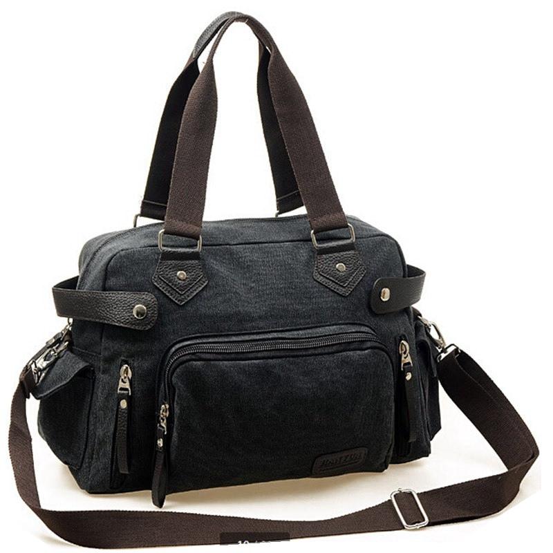 Men's Vintage Casual Canvas Shoulder Bag Big Capacity Men Messenger Bags Travel Handbag Size:41*27*14cm 0.75kg Free Shipping  men messenger bags 2015 27 shoulder bag