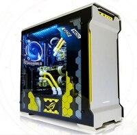 Процессор i9 7900x Оперативная память 32 г SSD 500 ГБ Настольный компьютер PC с водяным охлаждением Дело Box корпус