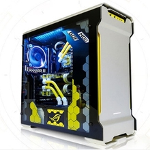 CPU i9 7900X RAM 32G SSD 500GB desktop computer pc With Water-cooling case box e