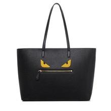 Bolsa Feminina Hot Sale New Woman Leather Handbags Eyes Handbag Brand Designers Tote Bag Small Monster Shoulder Bags Travel bag