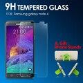 Prêmio de vidro temperado protetor de tela para samsung galaxy note 4 anti shatter película protetora de vidro temperado para samsung note 4