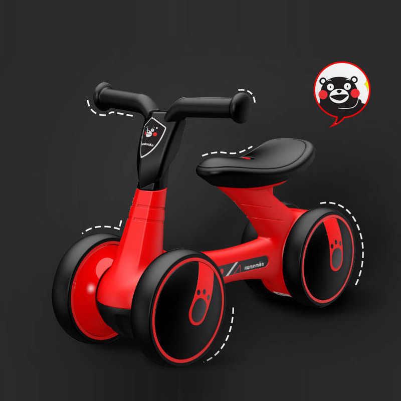 Bayi Keseimbangan Sepeda Walker Anak-anak Naik Toy Hadiah untuk 1-3 Tahun Tua Anak-anak untuk Belajar Berjalan Skuter
