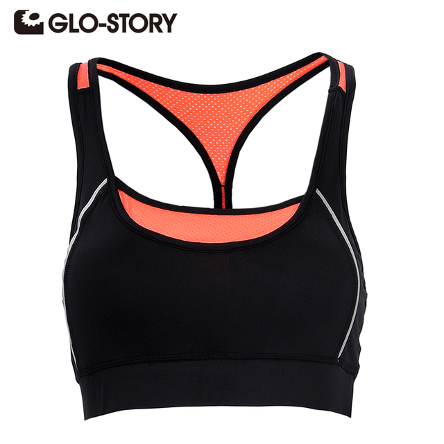 GLO-STORY Women Tops 2017 sexy women tank top Summer Women Bra Sleeveless Fitness vest tee shirts Lady Tops chaleco1651