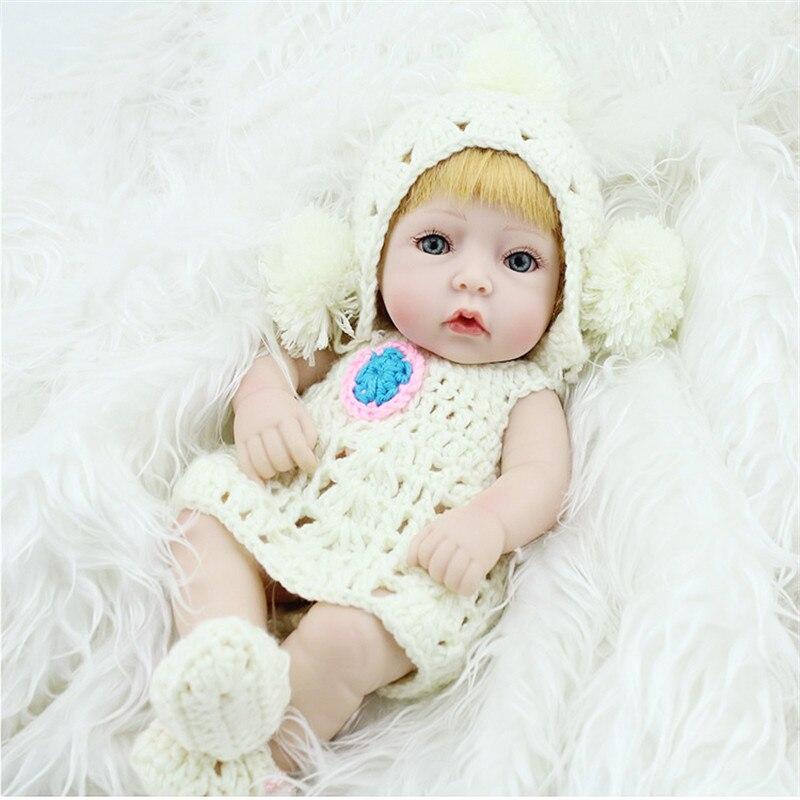 "11/"" Handmade Newborn Baby Girl Vinyl Silicone Reborn Dolls Life Like Toys【US】"