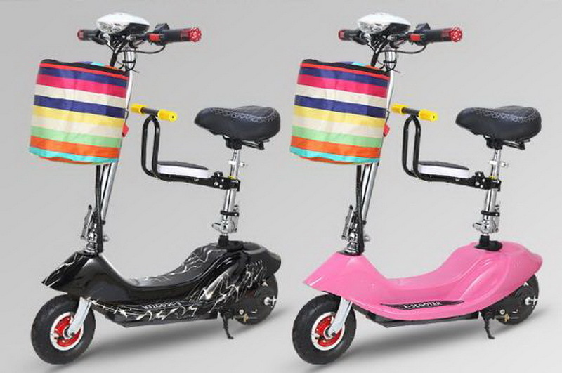 Cheap 261025/Ladies mini folding car bicycle scooter adult student portable two rounds/Scrub pedal 30-50km/h velo electrique 15