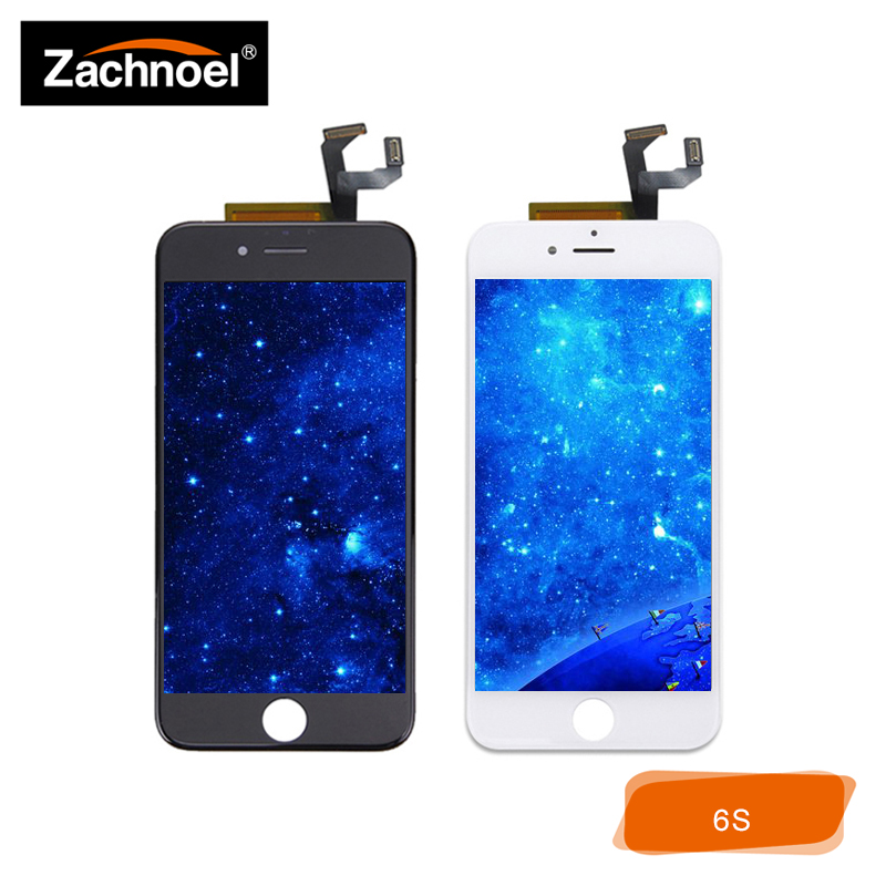 Full-Lcd Lcd-Display iPhone 6s Digitizer Glass-Panel-Assembly Touch-Screen Black