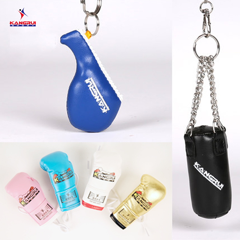 Keychain Mini boxing gloves key chain ring flag key ring cute ALBANIA