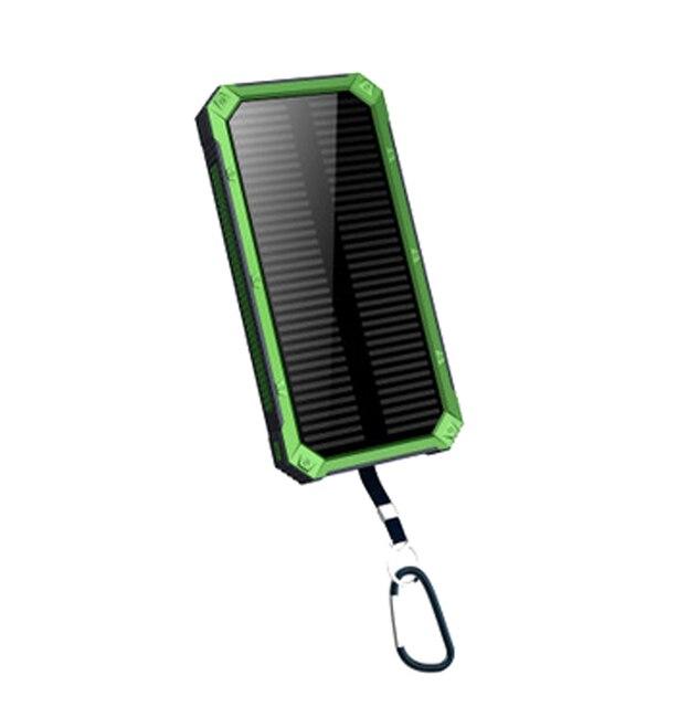 Tomoral Солнечной Банк силы Мобильного Телефона Портативный Внешний Солнце Мобильного Телефона Зарядное устройство 20000 мАч Универсальный
