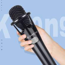 Wired Handheld Cardioid Condenser Microphone with 3.5mm Jack Cable Mic for Computer Studio Vocal Recording Karaoke(China)