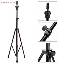 Adjustable Wig Stand Tripod Stand Hair Wig Head Mannequin Head Training Holder Hairdressing Clamp Hair Holder Salon Tools(China)