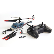 Top High Quality 4G RC Helicopter 4CH Single Blade 2 Main Blades Remote Control Helicopter RC Helicoptero De Controle Remoto Toy