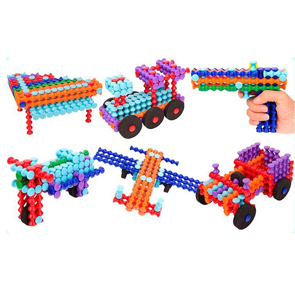 130 Stks Kleurrijke Bouw Techniek Fun Speelgoed Diy Model Bouwstenen Kit Brinquedos Voor Kinderen Jongens Educatief Geschenken Vraag Die Groter Is Dan Het Aanbod