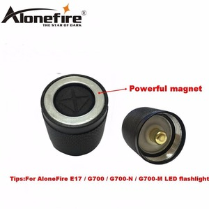 Image 4 - AloneFire E17 switch accessories G700 led flashlight switch/red green lens/remote pressure switch/remote pressure pad switch