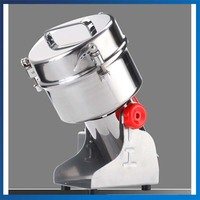 Large Multifunction Swing Type 2000g Portable Grinder Herb Swing Electric Flour Pulverizer Food Mill Grinding Machine
