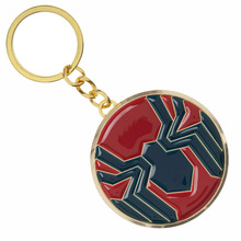 Spider-Man Far From Home Keychain Avengers Spiderman Logo Key Chain for Movie Fans Souvenir Jewelry