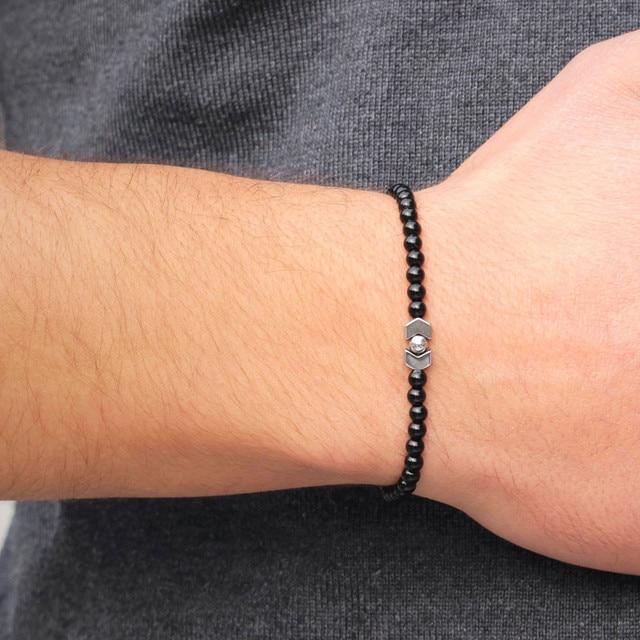 Lucky Handmade Stone Beads Bracelets9