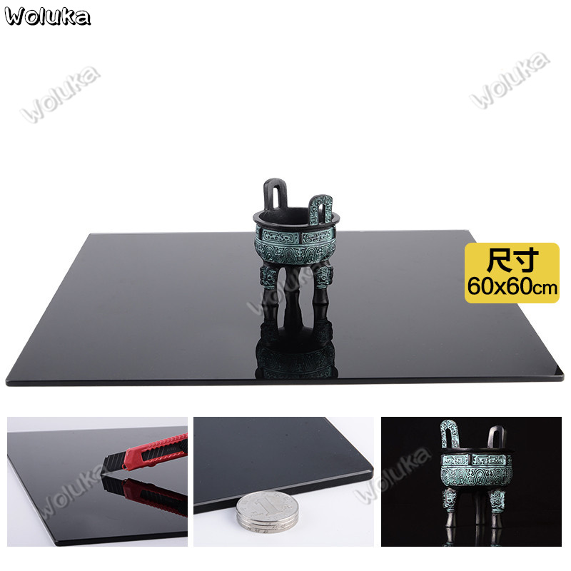 Camera & Photo Accessories Qualified Photographic 60cm Tempered Glass Background Board Photo Background Cloth Photography Reflection Plate Table Cd50 T03 Consumer Electronics