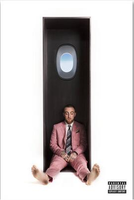 Album Cover Swimming Mac Miller Rapper Star Rap Art Wall Decor Silk Print Poster