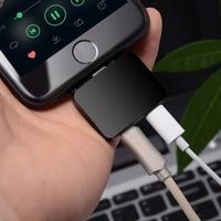 Nieuwe 2in1 Oortelefoon Poort Opladen Lader voor iPhone 7 7 Plus AUX Jack Audio Aux Poort Hoofdtelefoon Cord Adapter compatibel iOS 11