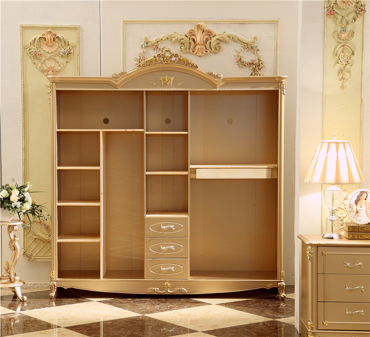 Antique Solid Wood Wardrobe Design Wooden Bedroom Furniture 5 Doors Closet Cabinets In Wardrobes From On Aliexpress Alibaba Group