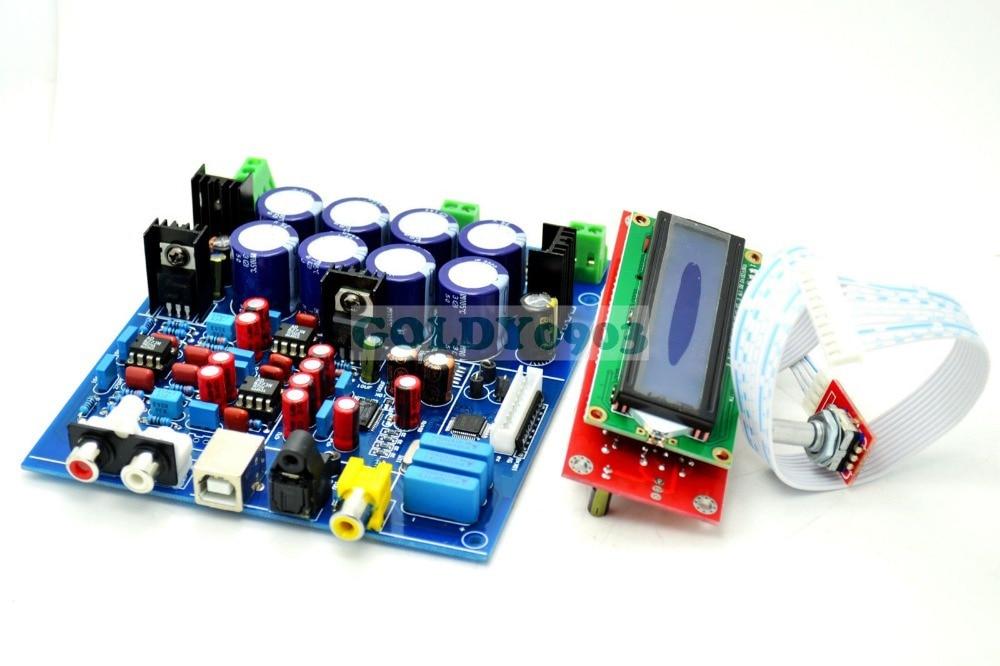 PCM1794 + AK4118 DAC Decoding Soft Control Board pcm 5820 advantech industry board pcm 5820 rev b2 used 100