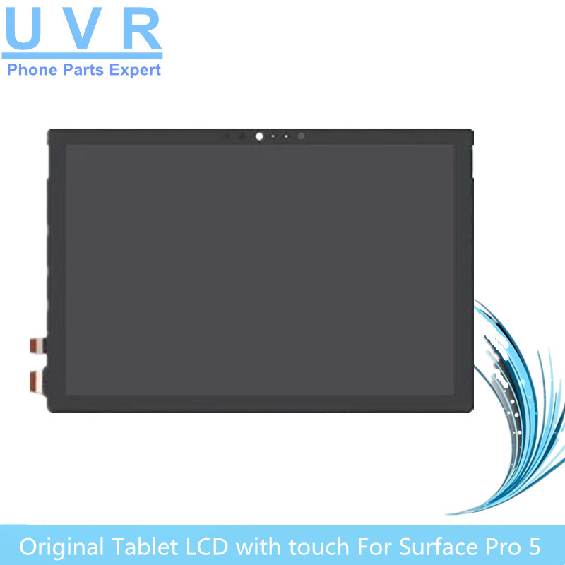 Original  LCD For Microsoft surface pro 5 Model 1796 lcd display touch screen glass digitizer assembly