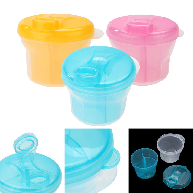 1pcs Portable Milk Powder Formula Dispenser Food Container Infant Feeding Storage Box for Baby Kids Care Toddler Travel Bottle 1