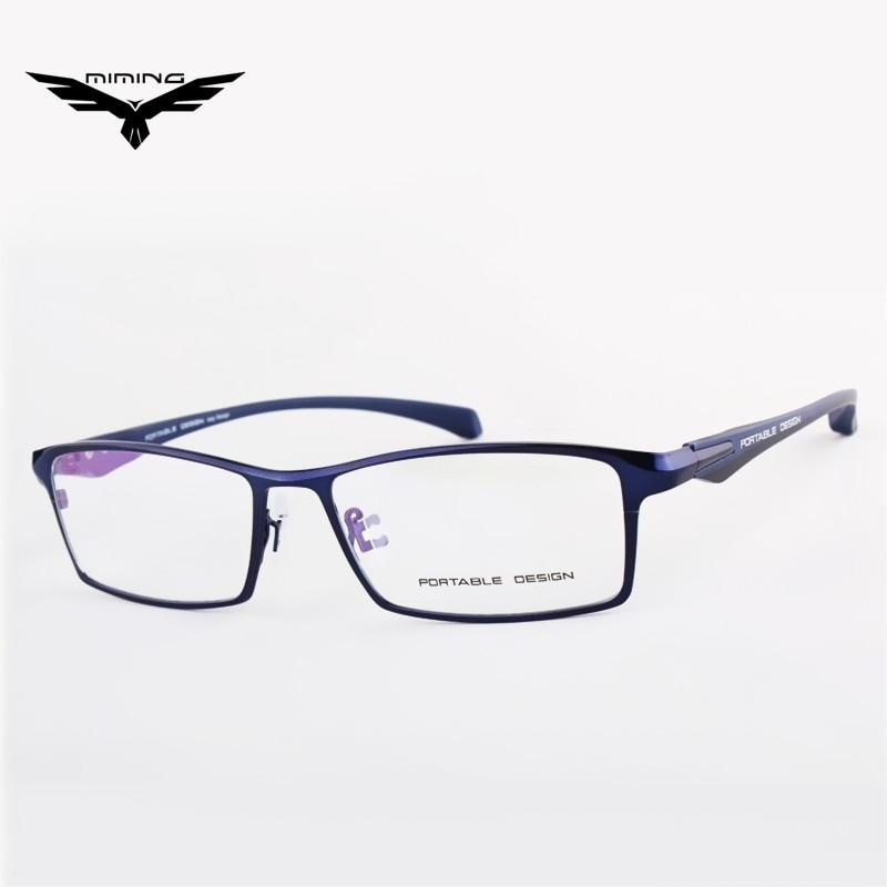 2016 New Brand Design Titanium Alloy Eyeglass Male Myopia Glasses Spectacle Frames For Men