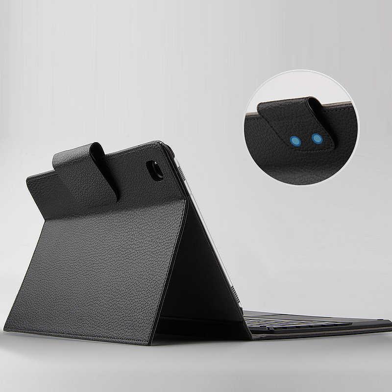 """Étui pour samsung Galaxy Tab S5E SM-T720 T725 10.5 Bluetooth clavier housse de protection PU cuir pour Tab S5E 10.5 """"tablette PC étui"""