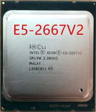 Intel Xeon E5 2667 v2 3,3 Ghz 8Core 16 Themen 25MB Cache SR19W 130W Prozessor E5-2667V2(China)