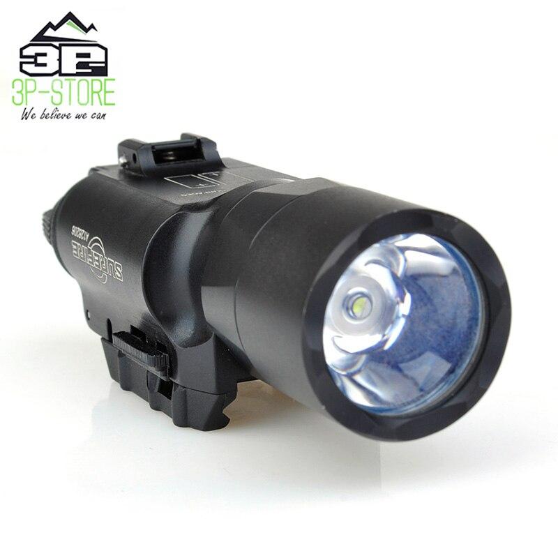 X300 Ultra Weapon Flashlight Pistol lanterna X300U Fashlight 370 Lumen with Picatinny Rail WEX359X300 Ultra Weapon Flashlight Pistol lanterna X300U Fashlight 370 Lumen with Picatinny Rail WEX359