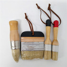 4PC Wooden Handle Ch...