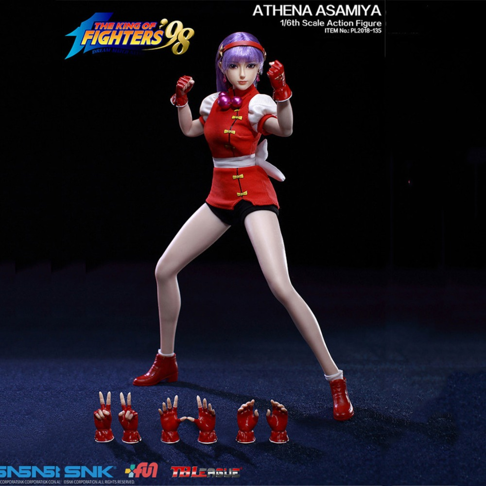 Full set action figure PL2018-135 ATHENA ASAMIYA 1/6th Scale Fighting queen Action Figure doll for Collection