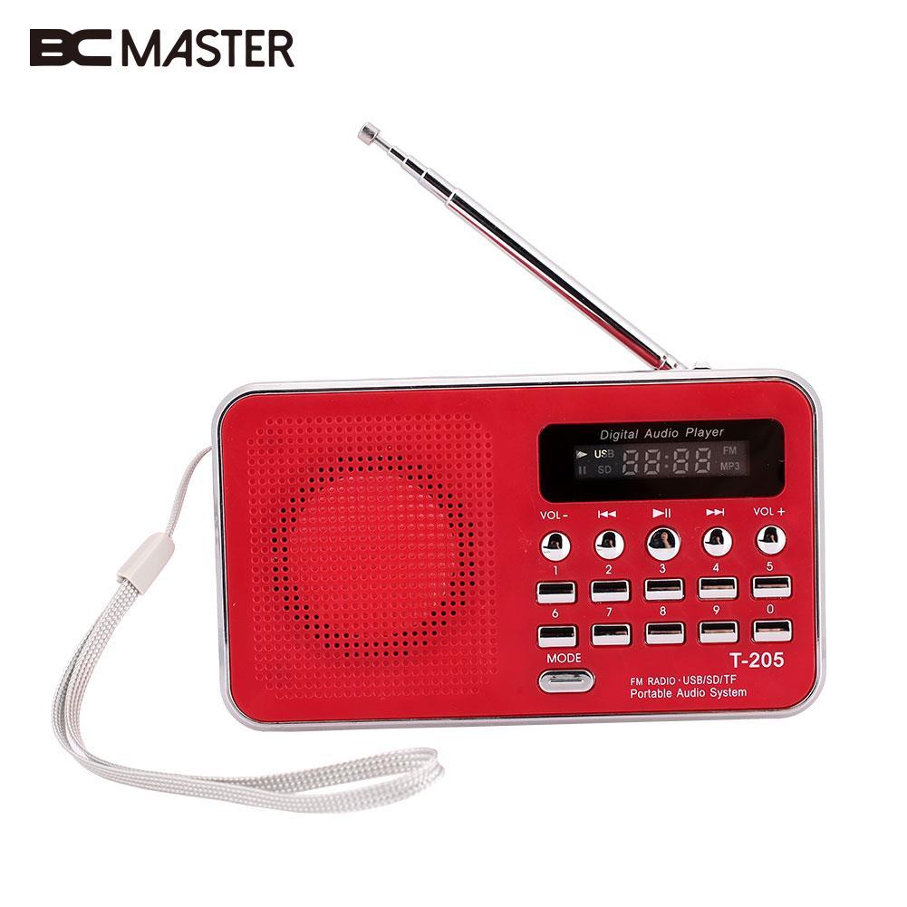 Tragbares Audio & Video Diszipliniert Bcmaster Beweglicher Fm Radio Sd/tf Micro Sd-kartensteckplatz Usb Aux Lautsprecher Digital Multimedia Musik Lautsprecher Fm Radio Mini Rot NüTzlich FüR äTherisches Medulla