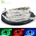 High Quality RGB LED Strip Light SMD 2835 300LED/5m  Flexible Strip Light  High Brightness No Waterproof Indoor Decoration