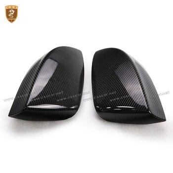 炭素繊維サイド翼ミラーカバー用quattroporte abs cf交換スタイルカバーフィット用quattroporteマセラティ2017