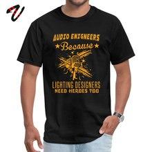Black Tops Tees Audio Engineer Hero Summer Fall Wrestling Sleeve Otaku Round Collar Mens T Shirts Casual Tee Shirt Newest