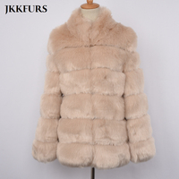 Women's Faux Fur Coat Furry High Quality Fake Fur Winter Warm Fur Luxury Outerwear Autumn Fashion Style Overcoat S8402
