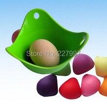 500 шт/партия-й силикон для пищевых продуктов яйцо плита Силиконовые Яйцо-пашот pod высокого качества