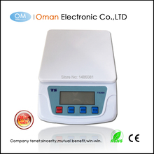 Oman-T200, цифровые точные весы для кухни, 10 кг/1 кг, цифровые кухонные весы, тонкие кухонные весы, 10 кг