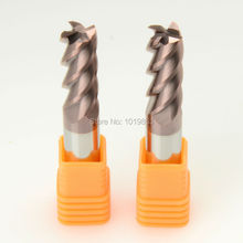 SLONS S300-12*12*75L HRC55 tungsten solid carbide end mill for CNC milling machine