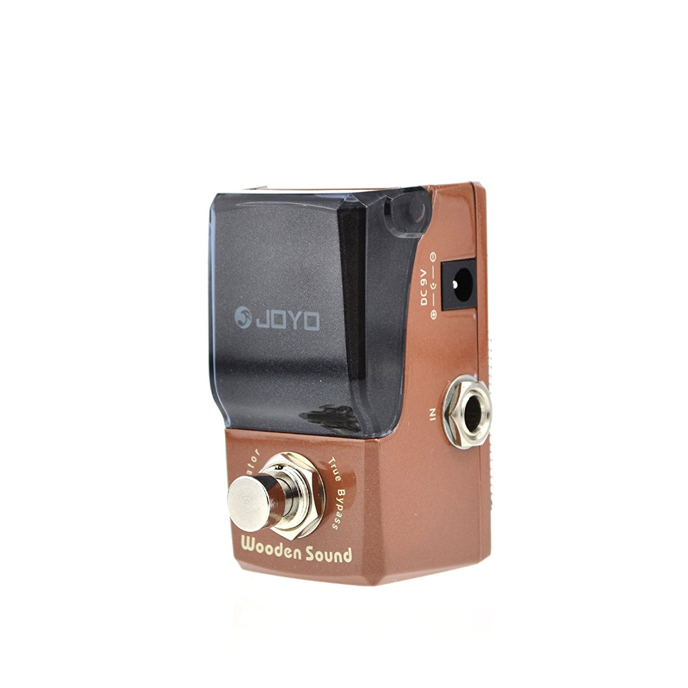 JOYO JF-323 IRONMAN Wooden Sound Mini Electric Guitar Effect Pedal Box Acoustic Guitar Simulator True Bypass