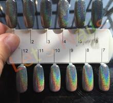 1g/Box Shinning Mirror Nail Glitter Powder Perfect Holographic Nails Mirror Powder Dust Laser Holo Nails Pigment