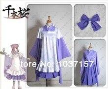 New Free Shipping VOCALOID Megurine Luka Senbonzakura Uniform font b Cosplay b font Costumes