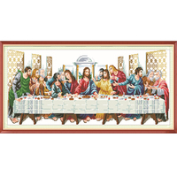 104 45 Cm Diamond Mosaic Embroidery The Last Supper 5d Diy Novelty DIY Diamond Painting DMC