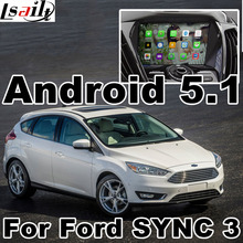 Android 5.1 GPS navigation box video interface for Ford Edge Focu Fiesta Fusion etc (SYNC G3 system) with cast screen