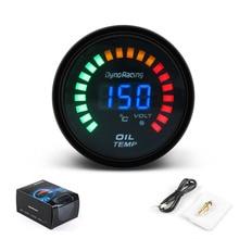 Dynoracing 2 дюйма 52 мм цифровой светодиодный датчик температуры масла для автомобиля имитирующий датчик температуры масла с датчиком дыма автомобильный измеритель