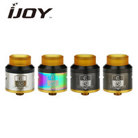 Original IJOY COMBO SRDA Tank Side Airflow Control With 810 Wide Bore Ultem Drip Tip Fit